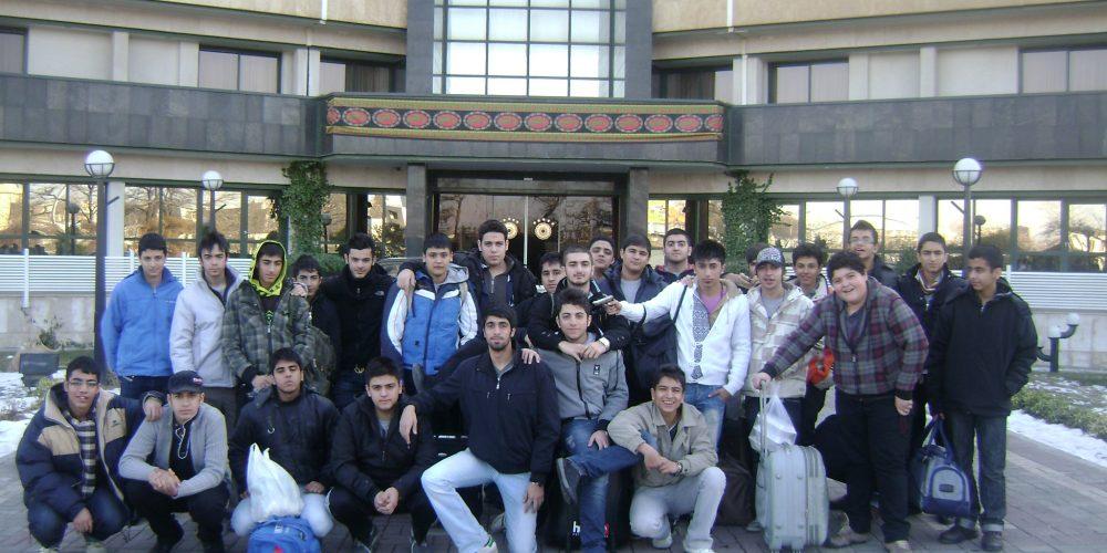 اردو مشهد سال 89-88