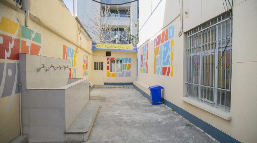 حیاط مدرسه4